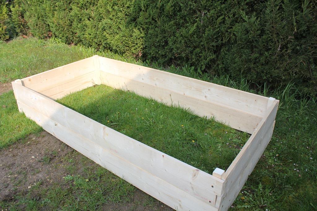 Construire une jardini re for Jardiniere hauteur 1 metre